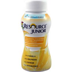 Nestle Resource Junior - drink wanilia 4x200ml - 1 opak.