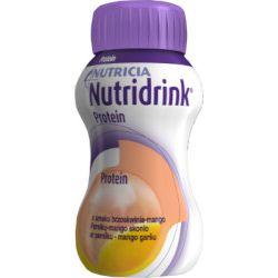 Nutricia Nutridrink Protein - brzoskwinia + mango - dieta wysokobiałkowa - opak.