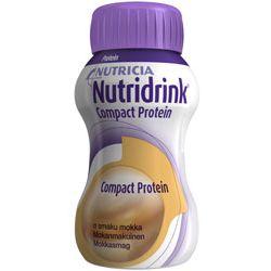 Nutricia Nutridrink Protein - mokka - dieta wysokobiałkowa - opak. 4x 125ml!