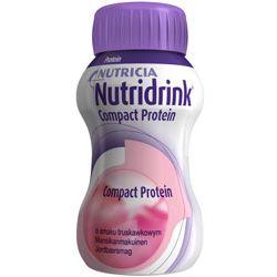 Nutricia Nutridrink Protein - truskawka - dieta wysokobiałkowa - opak. 4x 125ml!