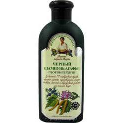 Czarny szampon przeciwłupieżowy Agafia