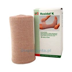 Rosidal K bandaż uciskowy o krótkim naciągu