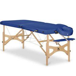 Drewniany stół do masażu Panda - składany