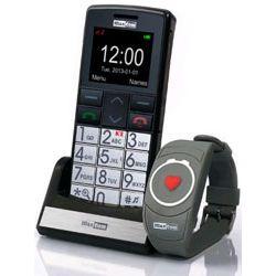 Telefon GSM dla seniora MM715 z funkcją SOS