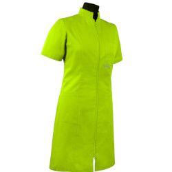 Klasyczna sukienka medyczna 209 - jednokolorowa