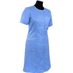Sukienka medyczna - bez kołnierza 223+ Pozostałe