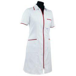 Sukienka medyczna damska (zamek, lamówka) 201+ (dla lekarza)