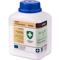 BIOMUS - Wodorowęglan sodu, Soda oczyszczona. Opakowanie: 0,5kg