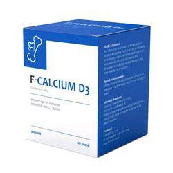 FORMEDS Wapno na zdrowe kości F-CALCIUM D3 - 60 saszetek