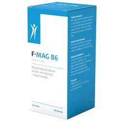 FORMEDS Magnez na stres i zmęczenie F-MAG B6 - 60 saszetek