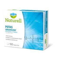 Naturell potas - redukuje skórcze mięśni i na nadciśnienie