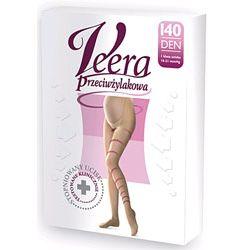 VEERA - Rajstopy medyczne dla kobiet w ciąży DEN 70 - 1 klasa kompresji