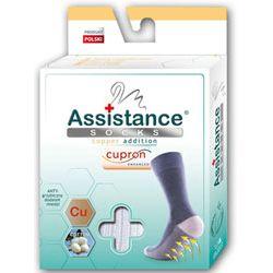Skarpety damskie Assistance Cupron antybakteryjne z dodatkiem miedzi