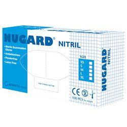 NUGARD Rękawice diagnostyczne nitrylowe, bezpudrowe