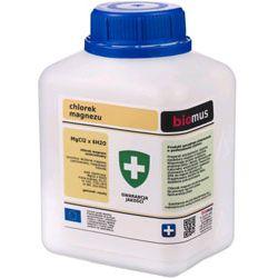 BIOMUS - chlorek magnezu 0,5 kg - uzupełnia niedobory magnezu w organizmie.