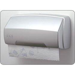 Pojemnik na ręczniki papierowe w rolce - satyna/chrom
