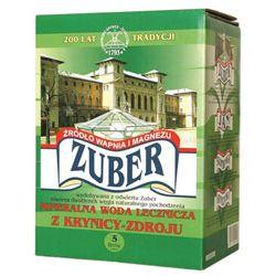 Woda lecznicza ZUBER 5L - niegazowana