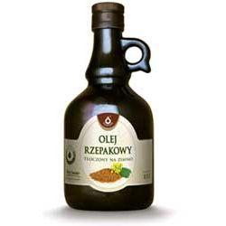 Olej rzepakowy tłoczony na zimno 500ml