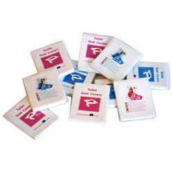Nakładki sedesowe w opakowaniach po 10 sztuk Zdrowie i Uroda