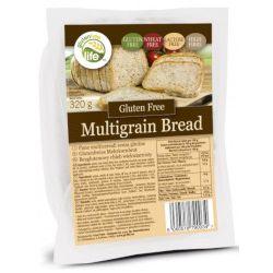 Chleb wieloziarnisty bezglutenowy 320g, bez laktozy, źródło błonnika