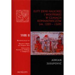 Elity ziemi halickiej i wołyńskiej w czasach Romanowiczów ok.1205-1269 Tom 2 - Outlet(Twarda)