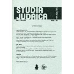 Studia Judaica Nr 2 (34)2014(Miękka) Książki i Komiksy