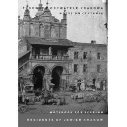 Żydowscy obywatele Krakowa Notes do czytania(Miękka) Książki i Komiksy
