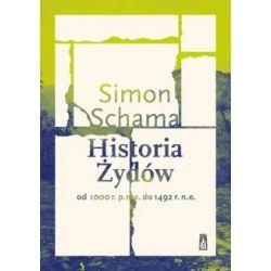 Historia Żydów Od 1000 r. p.n.e. do 1492 r. n.e.(Twarda) Książki i Komiksy