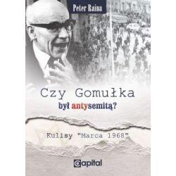 Czy Gomułka był antysemitą(Miękka) Książki i Komiksy