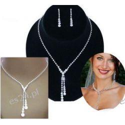 Komplet biżuterii ELENA I naszyjnik i kolczyki Biżuteria i Zegarki