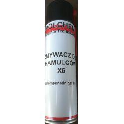 Zmywacz do hamulców X6 Polchem Chemia
