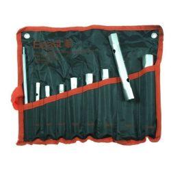 KLUCZE RUROWE ZESTAW 9 elementów PŁACHTA 6-22mm Beast 314060 Odzież wierzchnia