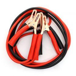 Kable rozruchowe 400A 2,5m KD1282 Kraft&Dele Płaskie, oczkowe, płasko-oczkowe