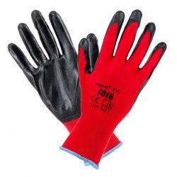 Rękawice impregnowane pokryte nitrylem 1016 Urgent Spodnie