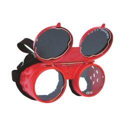 OKULARY SPAWALNICZE (WR004) C0071 Płaskie, oczkowe, płasko-oczkowe