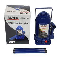 Podnośnik hydrauliczny butelkowy 20t SV-11099 SILVER Narzędzia i sprzęt warsztatowy