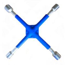 Klucz Krzyżak do odkręcania kół wzmacniany KD10533 Narzędzia i sprzęt warsztatowy