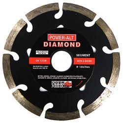 Tarcza diamentowa do betonu czarna POWER-ALT 125mm  Narzędzia