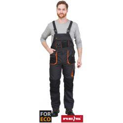 Spodnie ochronne ogrodniczki FORECO-B SBP Reis Otwornice