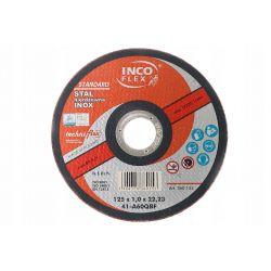 Tarcza do cięcia INOX 115/1.0 mm INCO-FLEX Dom i Ogród