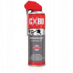 CX80 - PREPARAT KONSERWUJĄCO-NAPRAWCZY DUO SPRAY 500ml ( 076 ) Wkrętaki