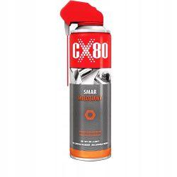 CX80 - SMAR MIEDZIANY 500ML DUO SPRAY AEROZOL Smar ( 232 ) Nasadowe