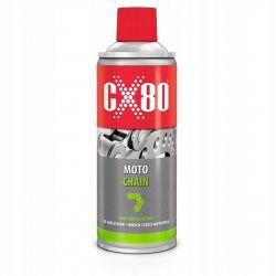 CX80 - MOTO CHAIN 500ML Smar do łańcuchów motocyklowych ( 219 ) Okulary i gogle
