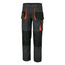 Spodnie robocze, płótno T/C, 260 g/m2, ze wstawkami Oxford, szare 7900E - Włoskiej firmy BETA Szczypce