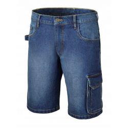 Spodnie krótkie z dżinsu z domieszką streczu 7529 Wkrętarki
