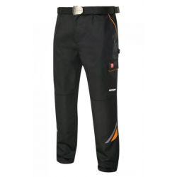 Spodnie Robocze do pasa PROFESSIONAL BLACK Przemysł
