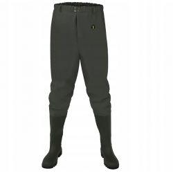 Pros SP03 Spodnie Wędkarskie z Wgrzanym Kaloszem Wędkarstwo