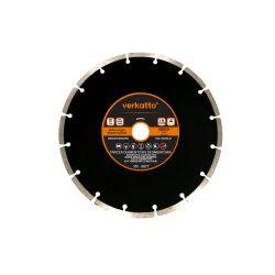 Tarcza diamentowa segmentowa 230 x 2.4 x 7.0 x 22.2mm, verkatto VR-6077 Do kół