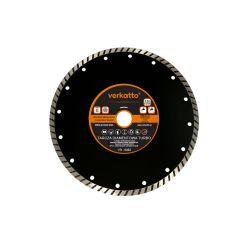 Tarcza diamentowa TURBO 230 x 2.6 x 7.0 x 22.2mm, verkatto VR-6082 Tarcze