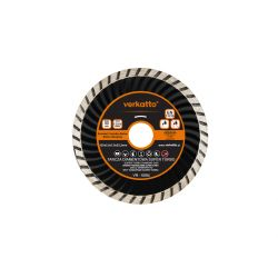 Tarcza diamentowa SUPER TURBO 125 x 2.2 x 7.0 x 22.2mm, verkatto VR-6084 Nasadowe